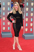 Sian Welby arriving for the BAFTA Film Awards 2018 at the Royal Albert Hall, London, UK. <br /> 18 February  2018<br /> Picture: Steve Vas/Featureflash/SilverHub 0208 004 5359 sales@silverhubmedia.com