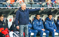 Trainer Christian Streich (SC Freiburg) - 19.01.2019: Eintracht Frankfurt vs. SC Freiburg, Commerzbank Arena, 18. Spieltag Bundesliga, DISCLAIMER: DFL regulations prohibit any use of photographs as image sequences and/or quasi-video.