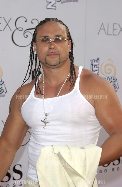 Actor CHINO XL at the world premiere, in Hollywood, of his new movie Alex & Emma..June 16, 2003.