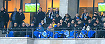 19.01.2020, OLympiastadion, Berlin, GER, DFL, 1.FBL, Hertha BSC VS. Bayern Muenchen, <br /> DFL  regulations prohibit any use of photographs as image sequences and/or quasi-video<br /> im Bild Werner Gegenbauer (Hertha BSC Berlin), Ingo Schiller (Hertha BSC), Lars Windhorst, Jogi Loew<br /> <br />       <br /> Foto © nordphoto / Engler