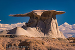 "Winged Rock, Bisti Badlands, New Mexico ©2016 James D Peterson.  The Bisti provides the very definition of ""otherworldly""."