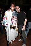 Matt Wall & Max von Essen.attending the Broadway Opening Night Actors' Equity Gypsy Robe Ceremony for recipient Matt Wall in 'EVITA' at the Marquis Theatre in New York City on 4/6/2012