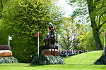 Badminton, Gloucestershire, United Kingdom, 4th May 2019, Nicky Hill riding MGH Bingo Boy during the Cross Country Phase of the 2019 Mitsubishi Motors Badminton Horse Trials, Credit:Jonathan Clarke/JPC Images