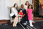 21/11/2014  Attending the Irish College of Humanities and Applied Science Conferrings in The Castletroy Park Hotel were Bolaji Animashaun, who was conferred with a M.A in Cognitive Behaviour Therapy, with Fleur, Indie, Aaliyah and Shade Animashaun, Newross, Wexford.<br /> Picture: Gareth Williams