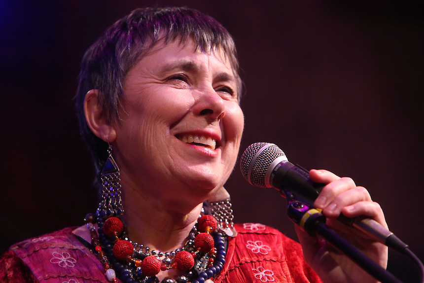 Bonnie Koloc at the Acorn Theater, Three Oaks, MI, Oct. 6, 2012.