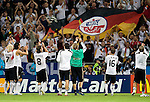 German team celebrates the victory against Poland at Euro 2008. Germany-Poland in Klagenfurt (Austria) 06082008.