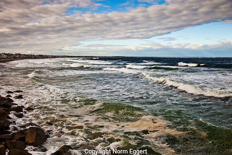 Wells Beach in Wells, Maine