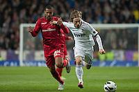 Luka Modric, protagonist of the match