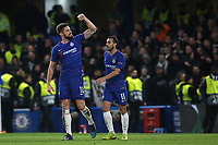 Olivier Giroud celebrates scoring Chelsea's second goal during Chelsea vs PAOK Salonika, UEFA Europa League Football at Stamford Bridge on 29th November 2018