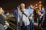 30 MAR 2016:  Team Arrivals take place during the 2016 NCAA Men's Final Four held in Houston, TX.  Matt Marriott/NCAA Photos