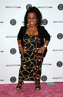 LOS ANGELES, CA - AUGUST 11: Tonya Reneé Banks, at Beautycon Festival Los Angeles 2019 - Day 2 at Los Angeles Convention Center in Los Angeles, California on August 11, 2019. <br /> CAP/MPIFS<br /> ©MPIFS/Capital Pictures