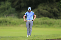 Eoin O'Brien (Clontarf) during the final round at the Mullingar Scratch Trophy, the final event in the Bridgestone order of merit Mullingar Golf Club, Mullingar, West Meath, Ireland. 11/08/2019.<br /> Picture Fran Caffrey / Golffile.ie<br /> <br /> All photo usage must carry mandatory copyright credit (© Golffile | Fran Caffrey)