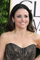 BEVERLY HILLS, CA - JANUARY 13: Julia Louis-Dreyfus at the 70th Annual Golden Globe Awards at the Beverly Hills Hilton Hotel in Beverly Hills, California. January 13, 2013. Credit: mpi29/MediaPunch Inc. /NortePhoto