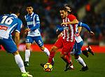 RCD Espanyol 1 v 0 Atletico de Madrid, RCDE Stadium, Barcelona. La Liga Santander 2017/2018, Jornada 17. Photo Martin Seras Lima