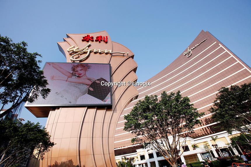 The Wynn Casino in Macau.<br /> May 08, 2007