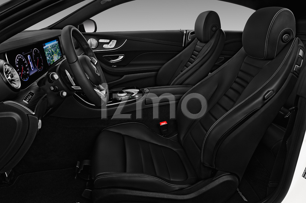 Front seat view of 2017 Mercedes Benz E Class AMG Line 2 Door Coupe front seat car photos