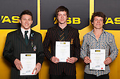 Wrestling finalists Shane Young, Shane Andrew and Joshua Andrew. ASB College Sport Young Sportsperson of the Year Awards held at Eden Park, Auckland, on November 24th 2011.