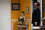 """Alex Cueva at """"Usted puede ser un asesino"""" Theater play in Muñoz Seca Theater, Madrid, Spain, September 07, 2015. <br /> (ALTERPHOTOS/BorjaB.Hojas)"""