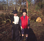 AREMMF Primary school children dressed in costumes for their Victorian day Suffolk England