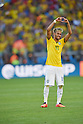 Neymar (BRA), JUNE 28, 2014 - Football / Soccer : Neymar of Brazil celebrates after winning the penalty shoot out during the FIFA World Cup Brazil 2014 round of 16 match between Brazil and Chile at Estadio Mineirao in Belo Horizonte, Brazil. (Photo by FAR EAST PRESS/AFLO)