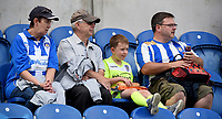 fans enjoy the pre-match atmosphere <br /> <br /> Photographer Hannah Fountain/CameraSport<br /> <br /> The EFL Sky Bet League Two - Colchester United v Stevenage Borough - Saturday August 12th 2017 - Colchester Community Stadium - Colchester<br /> <br /> World Copyright &copy; 2017 CameraSport. All rights reserved. 43 Linden Ave. Countesthorpe. Leicester. England. LE8 5PG - Tel: +44 (0) 116 277 4147 - admin@camerasport.com - www.camerasport.com