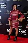 Cristina Medina attends to 'Como la Vida Misma' film premiere during the 'Madrid Premiere Week' at Callao City Lights cinema in Madrid, Spain. November 12, 2018. (ALTERPHOTOS/A. Perez Meca)