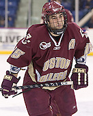 Stephen Gionta - The University of Massachusetts-Lowell River Hawks defeated the Boston College Eagles 6-3 on Saturday, February 25, 2006, at the Paul E. Tsongas Arena in Lowell, MA.