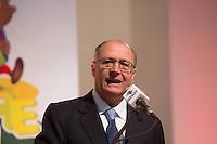 SAO PAULO, SP, 29 DE JULHO DE 2013. AMPLIAÇÃO CRECHE ESCOLA. O Governador Geraldo Alckmin durante o anuncio da ampliação do programa  Creche-Escola. Lançado em setembro de 2011 e desenvolvido pelas secretarias de Estado da Educação e do Desenvolvimento Social, o programa Creche-Escola abrange todos os municípios do Estado e tem como objetivo ampliar o atendimento a crianças na Educação Infantil. FOTO ADRIANA SPACA/BRAZIL PHOTO PRESS