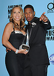 Mariah Carey Cannon & Nick Cannon at The 2008 American Music Awards held at Nokia Theatre Live L.A. in Los Angeles, California on November 23,2008                                                                     Copyright 2008 Debbie VanStory/RockinExposures