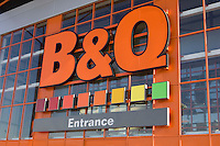 B&Q DIY Home Improvement Retail Superstore in Sheffield England