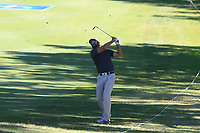 James Nitties (AUS) in action on the 1st during Round 2 Matchplay of the ISPS Handa World Super 6 Perth at Lake Karrinyup Country Club on the Sunday 11th February 2018.<br /> Picture:  Thos Caffrey / www.golffile.ie<br /> <br /> All photo usage must carry mandatory copyright credit (&copy; Golffile   Thos Caffrey)
