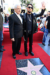 LOS ANGELES - OCT 30: Mike Navarro, Dave Navarro at a ceremony where 'Jane's Addiction' was honored with a star on the Hollywood Walk of Fame on October 30, 2013 in Los Angeles, California