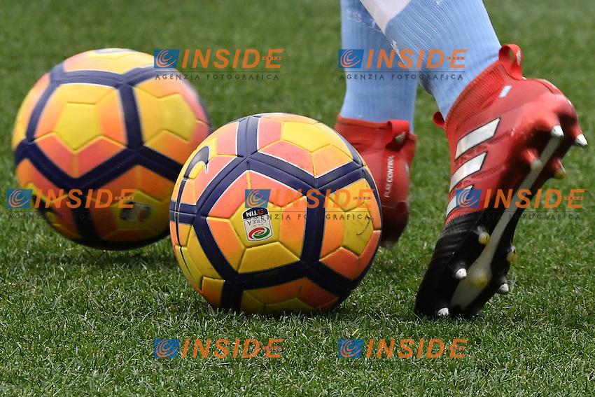 Palloni Nike e scarpino Adidas <br /> Nike balls and Adidas shoe <br /> Roma 08-01-2017 Stadio Olimpico Football <br /> Campionato Serie A 2016/2017 <br /> Lazio - Crotone    <br /> Foto Andrea Staccioli / Insidefoto
