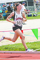 After a 58.07 in the prelims Friday, Jackson sophomore Carli Knott runs to an All-State finish-8th place in the 58.84 in the 400-meters at the 2014 MSHSAA Class 3-4 State Track and Field Championships, Saturday, May 31, in Jefferson City, MO.