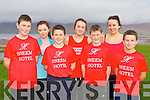 Sneem rowers at the fundraising walk for the All Ireland Coastal championships in Cromane on Sunday morning l-r: Liam Breen, Shauna O'Shea, David Murphy, Stacey Rigter, Conor O'Brien, Nakita Rigter, and Ciaran O'Sullivan