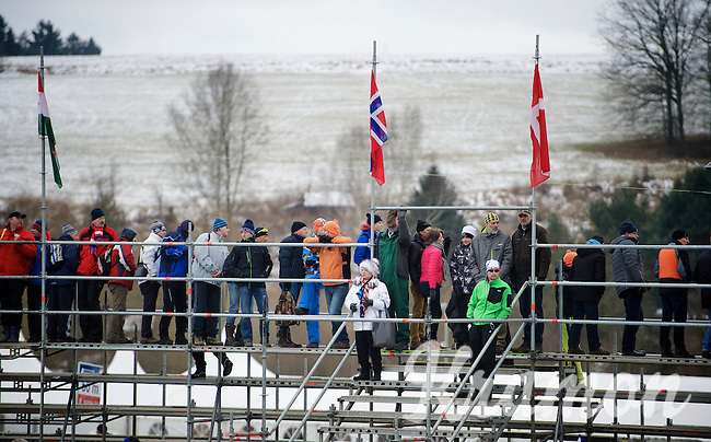 crowds are stacked<br /> <br /> 2015 UCI World Championships Cyclocross <br /> Tabor, Czech Republic