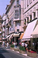 shopping scenic in Cannes France