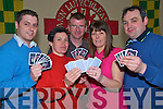 David O'Riordan, Annemarie O'Riordan, Colin Counihan, Mary and John Courtney at the Texas Holdem Poker event in the Kilcummin GAA Clubhouse on Sunday, in aid of the Kilcummin ladies football club..
