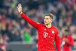 09.11.2019, Allianz Arena, Muenchen, GER, 1.FBL,  FC Bayern Muenchen vs. Borussia Dortmund, DFL regulations prohibit any use of photographs as image sequences and/or quasi-video, im Bild Leon Goretzka (FCB #18) <br /> <br />  Foto © nordphoto / Straubmeier