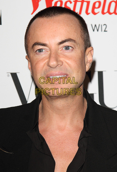 LONDON, ENGLAND - OCTOBER 30: Julien Macdonald at the Westfield 5th birthday celebrations with a Vogue pop-up party held at Westfield Shopping Centre on October 30th 2013 in London, England.  CAP/ROS<br /> &copy;Steve Ross/Capital Pictures