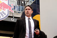 Colorado Rapids technical director Paul Bravo. The New York Red Bulls and the Colorado Rapids played to a 1-1 tie during a Major League Soccer (MLS) match at Red Bull Arena in Harrison, NJ, on March 15, 2014.