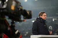 FUSSBALL   1. BUNDESLIGA   SAISON 2012/2013    23. SPIELTAG FC Schalke 04 - Fortuna Duesseldorf                        23.02.2013 Horst Heldt  (FC Schalke 04) im TV Intervie
