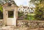 Historic Avebury manor house building, Avebury, Wiltshire, England, UK