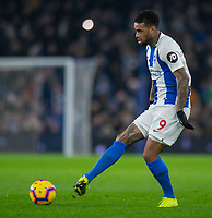 Brighton & Hove Albion's Jurgen Locadia<br /> <br /> Photographer David Horton/CameraSport<br /> <br /> The Premier League - Brighton and Hove Albion v Arsenal - Wednesday 26th December 2018 - The Amex Stadium - Brighton<br /> <br /> World Copyright © 2018 CameraSport. All rights reserved. 43 Linden Ave. Countesthorpe. Leicester. England. LE8 5PG - Tel: +44 (0) 116 277 4147 - admin@camerasport.com - www.camerasport.com