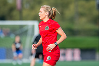 Boston, MA - Sunday September 10, 2017: Allie Long during a regular season National Women's Soccer League (NWSL) match between the Boston Breakers and Portland Thorns FC at Jordan Field.