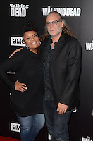 HOLLYWOOD, CA - OCTOBER 23: Yvette Nicole Brown and Greg Nicotero at AMC Presents Live, 90-Minute Special Edition of 'Talking Dead' at Hollywood Forever on October 23, 2016 in Hollywood, California. Credit: David Edwards/MediaPunch