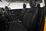 Front seat view of a 2014 MINI Cooper Hardtop 3 Door Hatchback