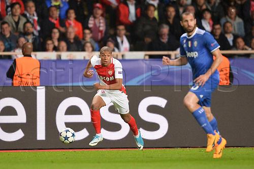 May 3rd 2017, Stade Louis II, Monaco,France; UEFA Champions league football semi-final, AS Monaco versus Juventus;  KYLIAN MBAPPE (mon)