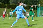 12.07.2017, Sportplatz, Mals, ITA, FSP, FC Augsburg vs 1. FC Kaiserslautern, im Bild Marvin Hitz (Augsburg #35) wirft den Ball<br /> <br /> Foto &copy; nordphoto / Hafner