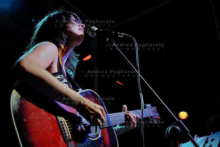 Cristina Donà in concerto.© Andrea Pagliarulo/BuenaVistaphoto